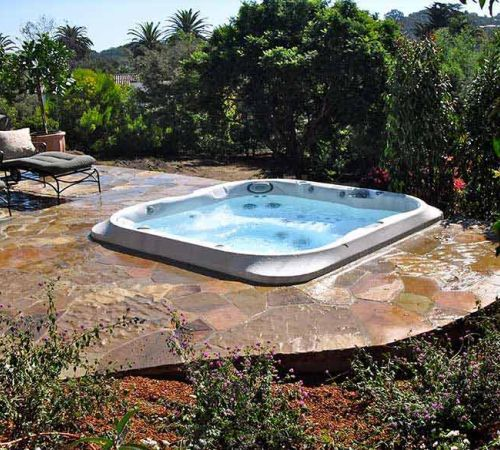 Backyard Jacuzzi Installation New Jersey