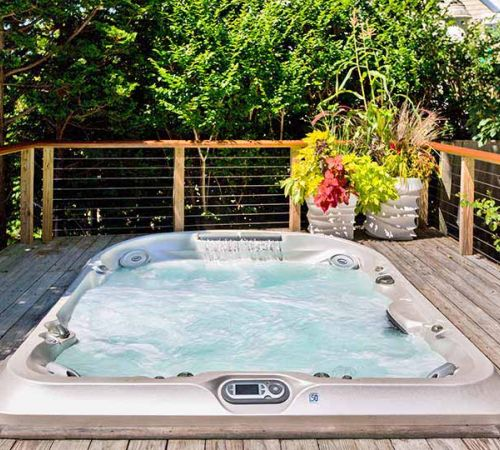 Jacuzzi Hot Tub Deck Installation New Jersey
