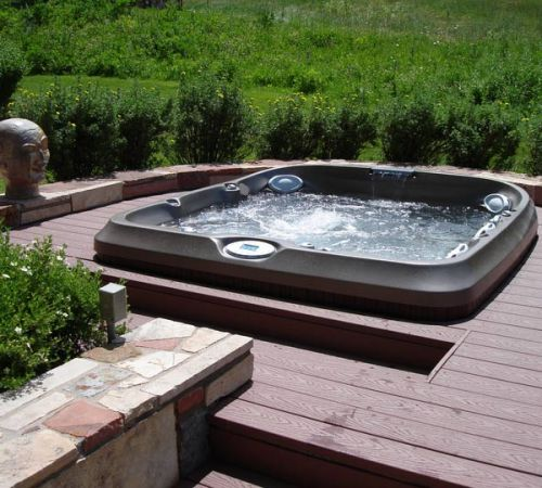 Jacuzzi Hot Tub In Deck Installation New Jersey