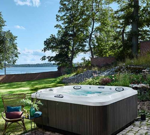 Jacuzzi Hot Tub Installation By Water New Jersey