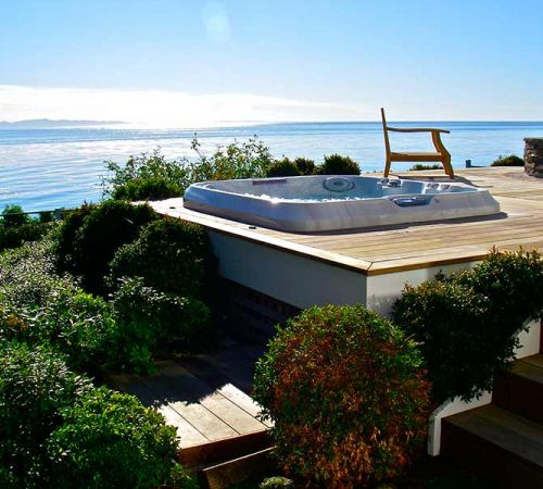 Jacuzzi Hot Tub Ocean Installation New Jersey