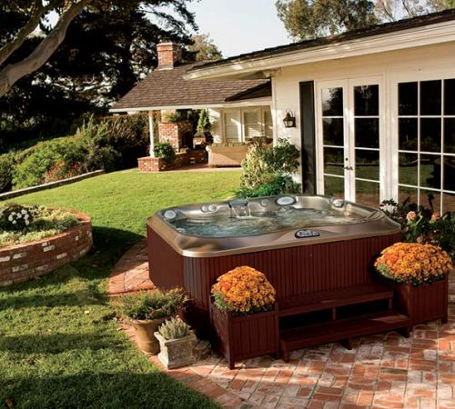 Jacuzzi Hot Tub Summer Installation New Jersey
