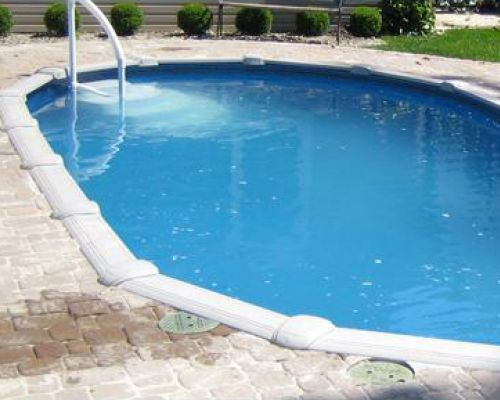 Semi Inground Pool in New Jersey